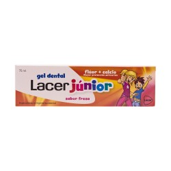 Gel dental Junior Fresa Lacer