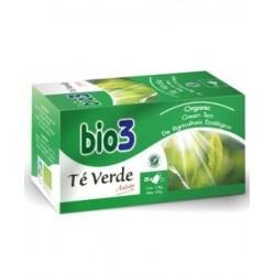 Infusiones té verde Bio3