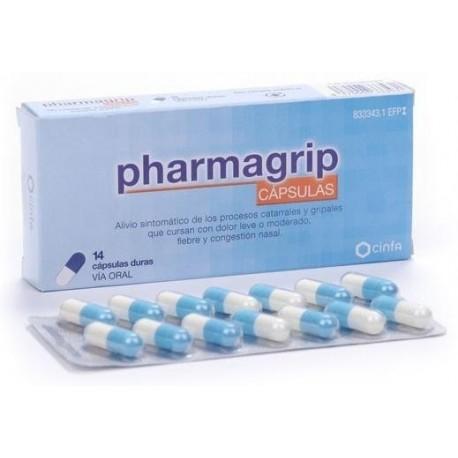 Pharmagrip 14 cápsulas Antigripal