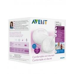 Discos de lactancia absorbentes dia Avent. 30ud