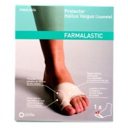 Gel de silicona protector juanete Farmalastic Cinfa