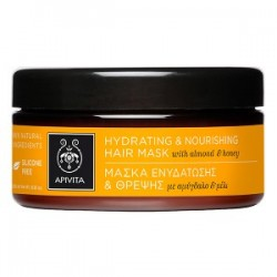 APIVITA MASCARILLA CAPILAR hidratante nutritiva almendras y miel