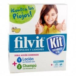Kit champú y loción antipiojos Filvit