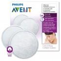 Discos de lactancia absorbentes lavables AVENT 6 u.