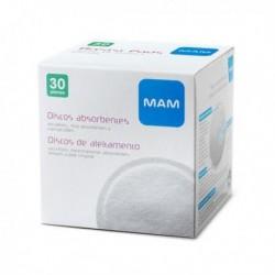 Discos de lactancia absorbentes MAM 30 unidades