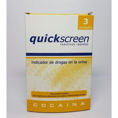 Test Cocaina QUICKSCREEN