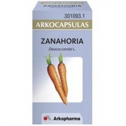 Arkocápsulas zanahoria 48 cápsulas Arkopharma