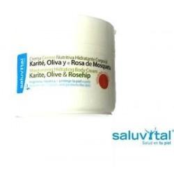 Crema nutritiva hidratante corporal Saluvital 200ml